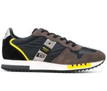 Queens panelled sneakers
