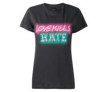 """T-Shirt mit """"Love Kills Hate""""-Print"""