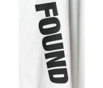 """Oversized-T-Shirt mit """"Found""""-Print"""