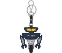 Schlüsselanhänger mit Robotermotiv