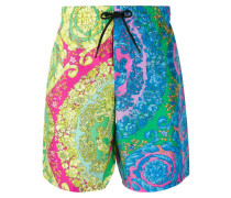 Fluo barocco swim shorts