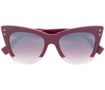 Breite Cat-Eye-Sonnenbrille