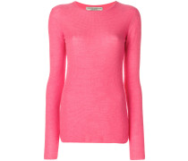Pullover mit Webmuster