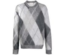 'Harris' Pullover mit Argyle-Muster