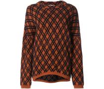 Bestickter 'Kvasa' Pullover