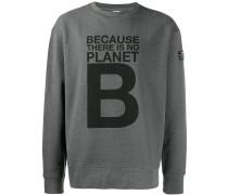 "Sweatshirt mit ""Planet B""-Print"
