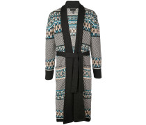 Mantel mit abstraktem Muster