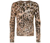 Pullover mit Leopardenmuster