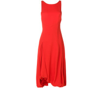 Exclusive bubble-hem midi tankdress