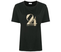 Université print T-shirt