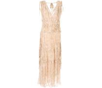 'Zola' Kleid mit V-Ausschnitt