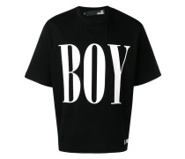 "T-Shirt mit ""Boy""-Print"