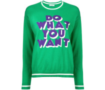 P.A.R.O.S.H. 'Do What You Want' Pullover
