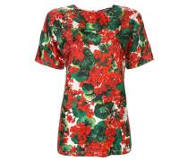 T-Shirt mit Portofino-Print