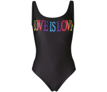 'Love is Love' Badeanzug