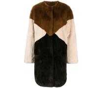 P.A.R.O.S.H. colour block coat