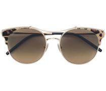 'Lue' Sonnenbrille mit Leo-Print