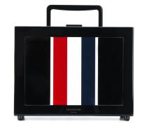 Box-Bag mit Streifenmuster