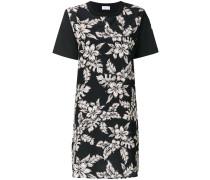 Kurzes Kleid mit Blumen-Print