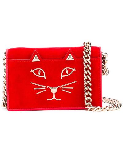 Billige Websites Charlotte Olympia Damen Umhängetasche mit Katzenstickerei Kaufen Sie Ihre Lieblings Qualität Für Freies Verschiffen Verkauf dEdmx4yn