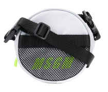 Mini Umhängetasche mit Neon-Logo