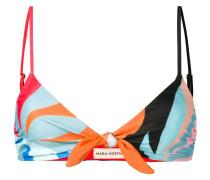 Bikinioberteil mit abstraktem Print
