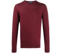 fine knit crew-neck jumper
