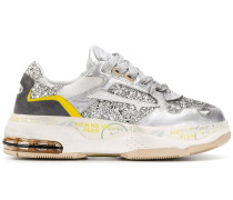 'Drake' Sneakers in Glitter-Optik