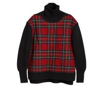 Pullover mit Schottenkaromuster