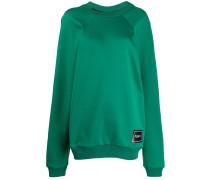 Oversized-Sweatshirt mit Patch