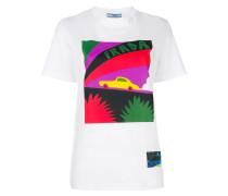 T-Shirt mit Auto-Print