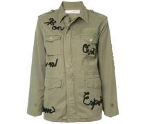 ribbon message field jacket