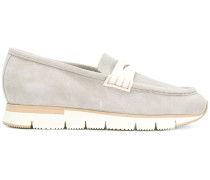contrast loafers