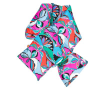 psychedelic print scarf