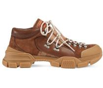 Hiking-Boots mit Monogrammmuster