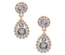 crystal embellished earrings