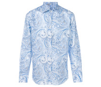 Shirt mit Paisley-Print