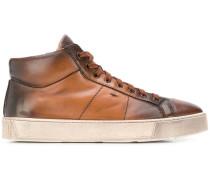 High-Top-Sneakers mit Farbverlauf