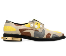 Oxford-Schuhe mit Print