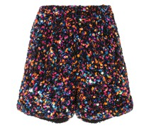 Shorts mit Pailletten