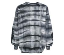 Besticktes Sweatshirt mit Batikmuster
