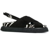 Sandalen mit Print
