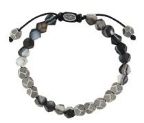 multi-faceted bead bracelet