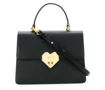 Handtasche mit Herzschnalle
