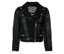 open-star biker jacket