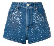 Verzierte Shorts mit hohem Bund