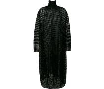 Kleid mit Schachbrettmuster