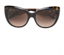 Cat-Eye-Sonnenbrille im Oversized-Design