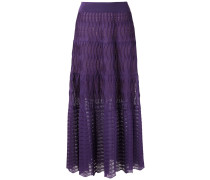 knitted maxi skirt