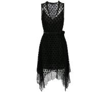 overlay lace midi dress